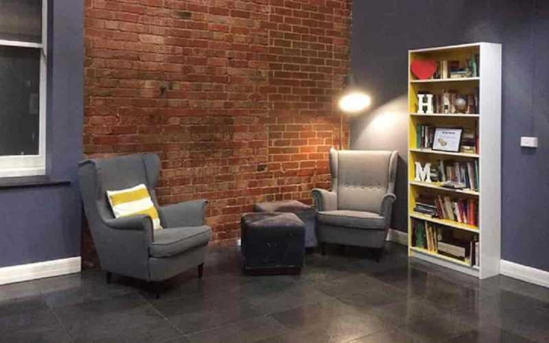 Cômodo para leitura