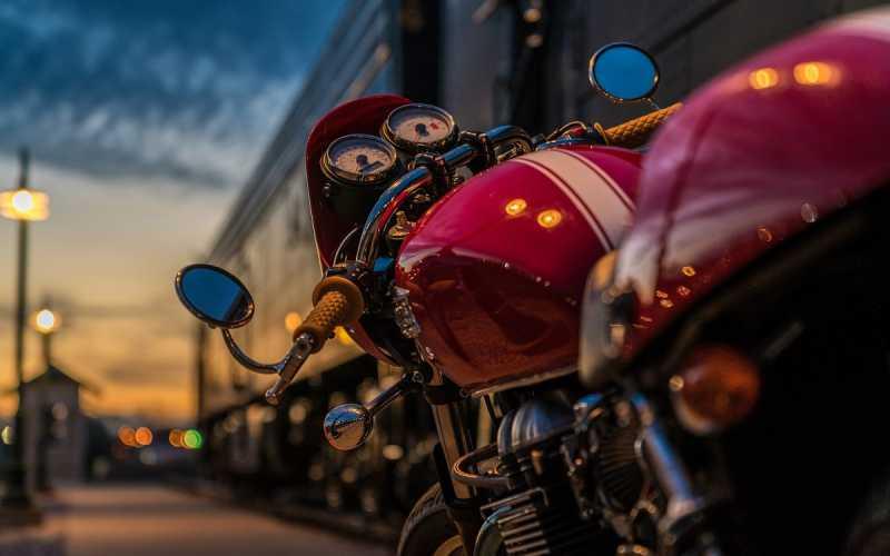Moto com superaquecimento